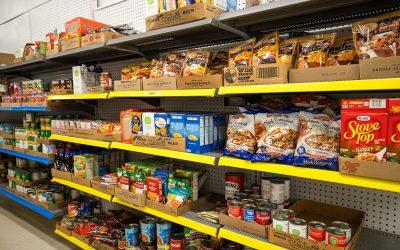 2 shelf food